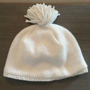 Janie and Jack 12-18month cream hat